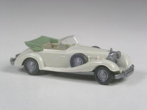 Wiking Mercedes 540 K grauweiß erste Version Klasse