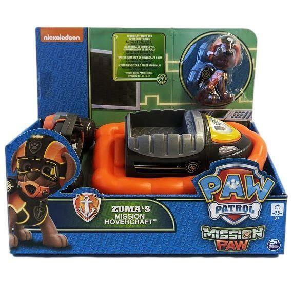 Paw Patrol Zumas Mission Hovercraft Toy Figure & Vehicle 03