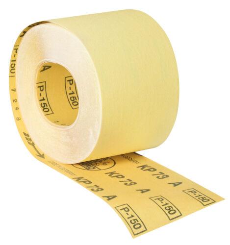 Awuko Schleifrolle Schleifpapier Rolle KP73A70 mm x 50 mK150