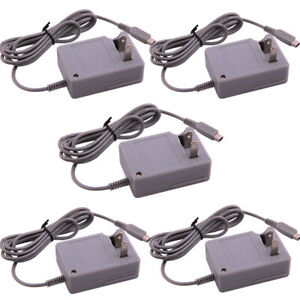 5x Travel AC Wall Adapter Charging Cable US Plug For Nintendo NDSi DSi LL/XL 3DS