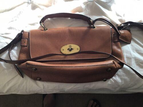 Vintage Mulberry England Light Brown Shoulder Bag