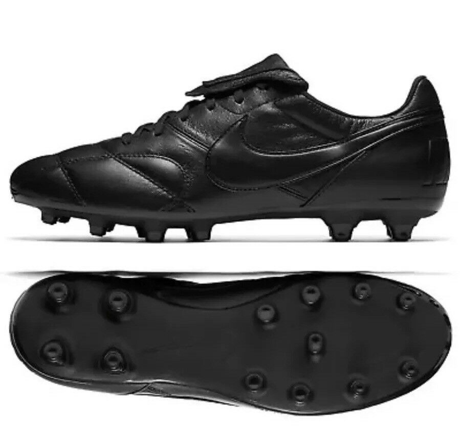 The Nike Premier II FG Black 917803 005 Men's Size 6.5