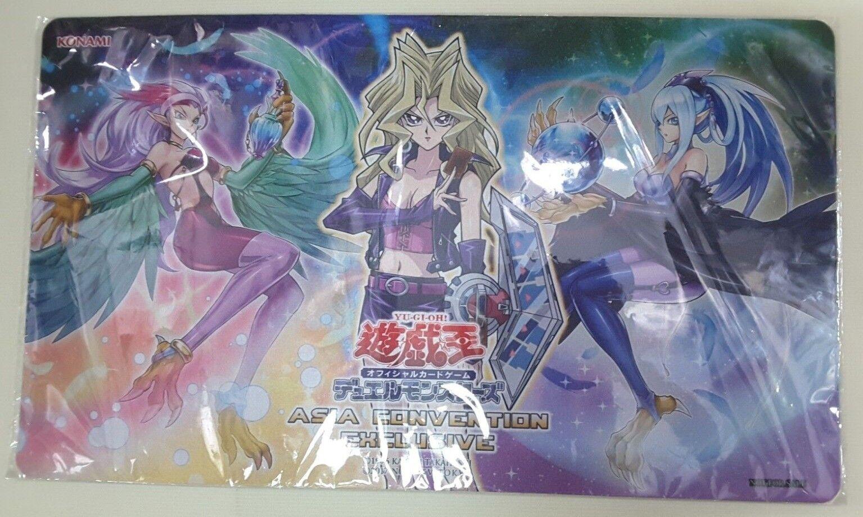Konami Yu-Gi-Oh Asien Convention exklusiv 2018 Harpie Lady Rubber Playmat