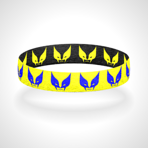 Reversible Wolverine Bracelet Wristband Superhero Cosplay Bracelet