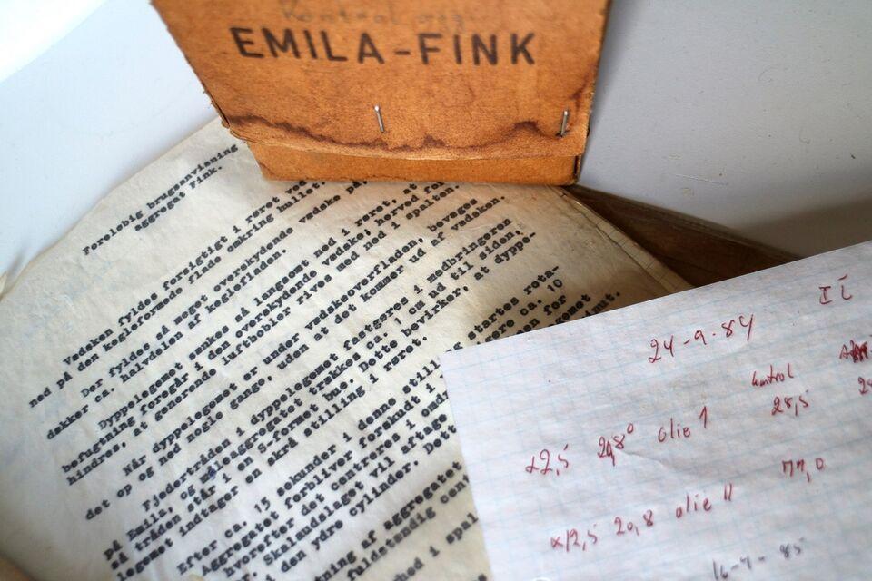 aggregat, Emila Fink, år 1984