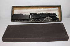 Brass Made in Japan 2-8-2 Steam Locomotive with Tender, Nice Original