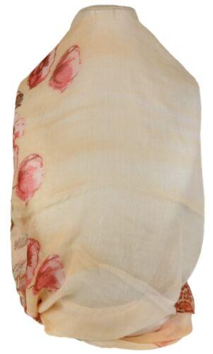 Da Donna Poppy Stampa Sciarpa Fiore Vintage British celebrazione Testa Wrap collo sciallato