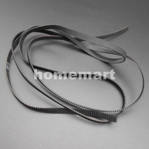 2GT 2GT-200//232//280//400//600//900//1220 Open Closed loop synchronous belt 6mm P:2MM