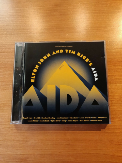 Elton John & Tim Rice: Aida, rock, CD i pæn…