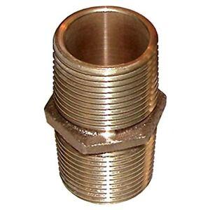1 in. Groco Bronze Pipe Nipple