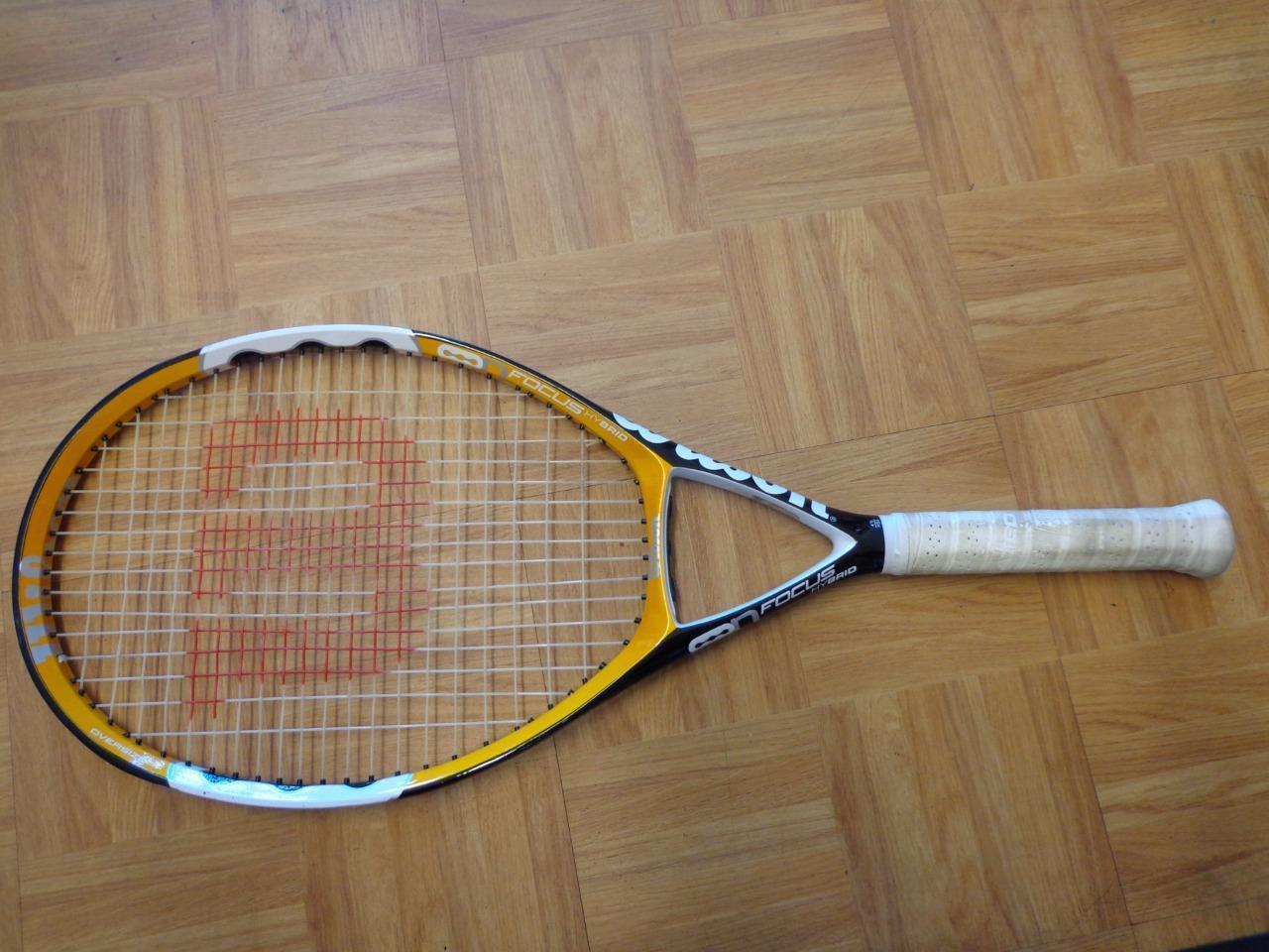 Wilson NCode N Focus Hybrid 110 head 4 1 2 grip Tennis Racquet