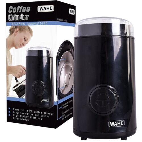 150 W noir Wahl café épices électrique Meuleuse 60 G puissant avec Pulse ZX931