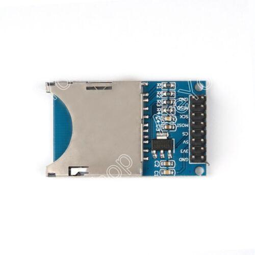 SD Karten Slot Kartenleser Modul Socket Reader Für  ARM MCU Read/&Write GE