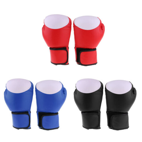 1Pair Boxing Gloves Punch Bag Mitts Mittens for Youth Boys Girls Kickboxing