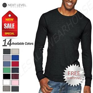 Next-Level-Unisex-Thermal-Premium-Fit-Long-Sleeve-XS-XL-T-Shirt-R-N8201