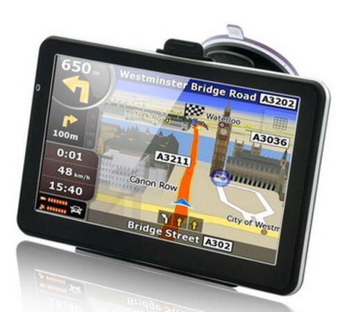 "8GB 7"" Truck Car GPS Navigation Navigator Free USA Canada Mexico US EU World Map"