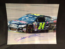 NEW Jeff Gordon #24 Autographed Signed 8 x 10 Picture Pepsi Drive to End Hungar