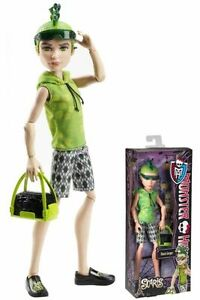 Monster-High-DEUCE-GORDON-Doll-Scaris-City-of-Frights-Travel-Ghoul-Original-Boy