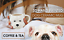 miniature 5 - 3D Hand Painted Dog Coffee Tea Ceramic Mug w/ Spoon Cute Dog Lover Pet Gift
