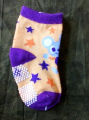 Toddlers Non Slip Safety Socks In the UK Cute Mouse Design Freepost UK.