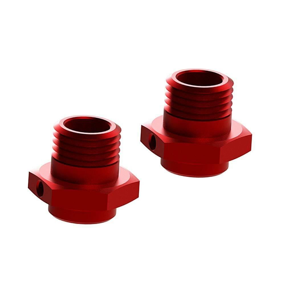 ARRMA AR330359 Wheel Hex Aluminum Nero 2 R//C Car Part Red