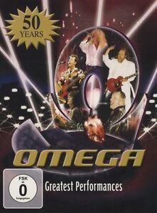 OMEGA-034-GREATEST-PERFORMANCES-2DVD-SET-034-2-DVD-NEUF
