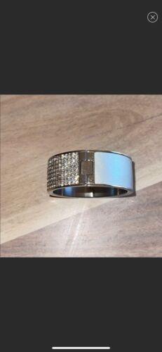 Authentic Swarovski bracelet - Leather & swarovski