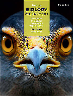 1 of 1 - Nelson Biology Vce Units 3 & 4 (Student Book with 4 Access Codes) by Tony Chiov…