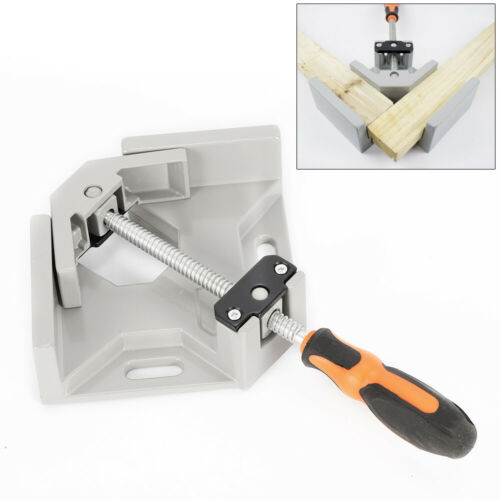 Right Angle Clip Clamp Woodworking Handle 90° Corner Frame Vise Welding Clamp US