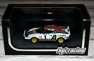 Hpi racing 980 1/43 lancia stratos hf rally monte carlo 1977 munari rare