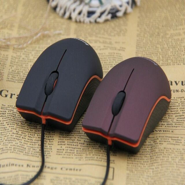 Mini Optical Mice USB 3D Wired Gaming 1200dpi Mouse PC Laptop Lenovo Computer US