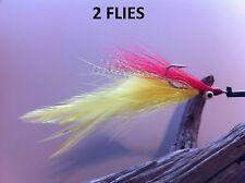 Pike tarpon flies muskie bass Bob/'s Pikeabou Deceiver Olive