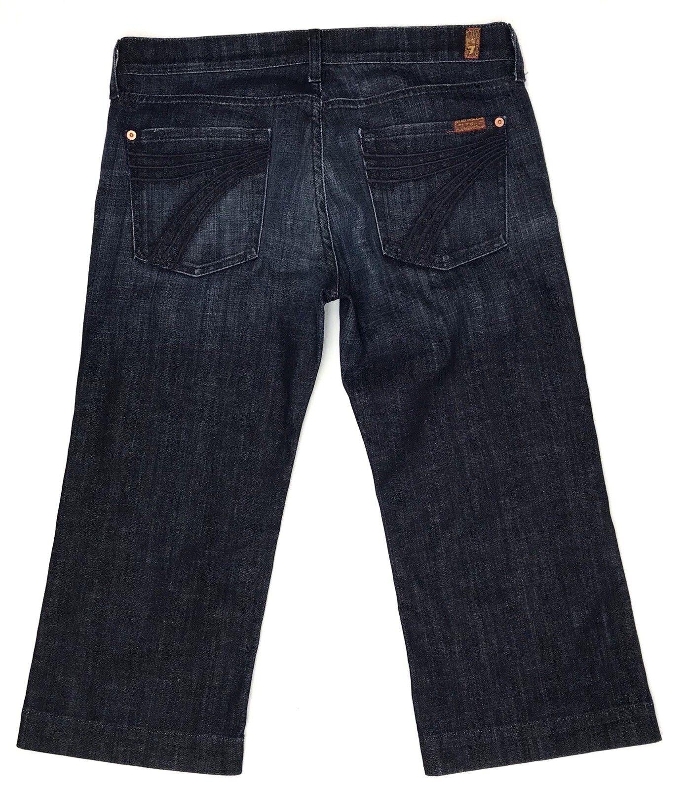 7 for All Mankind Crop Dojo Jeans Womens Size 30 Stretch Denim