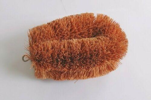 Coconut Natural 100 /% Fiber Coir Brush Bath Cleaner Dish Cleaning Body Scrubbing