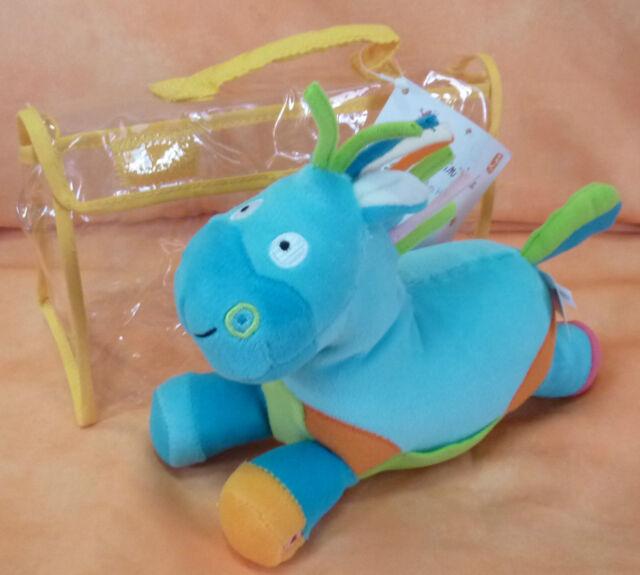 Baby Spielzeug, Plüsch Pferd mit Rassel Geburt Taufe