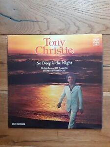 Tony-Christie-So-Deep-Is-The-Night-MFP-50396-Vinyl-LP-Compilation