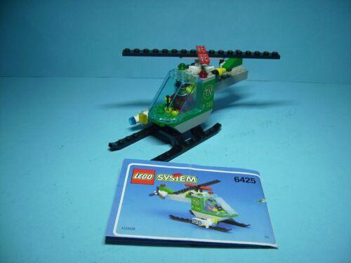 LEGO Baukästen & Sets Lego 6425,Hubschrauber Film Team Original Bauanleitung
