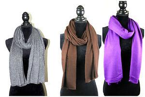 Cashmere-Scarf-Pure-Cashmere-Knit-Men-Women-Soft-Red-Wool-Black-Warm-Wrap-Nepal