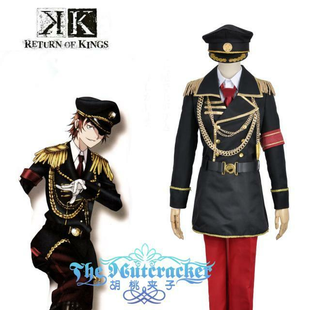 K Yata Misaki Cosplay Costume Kostüm Uniform RETURN OF KINGS Totsuka Tatara | Überlegene Qualität