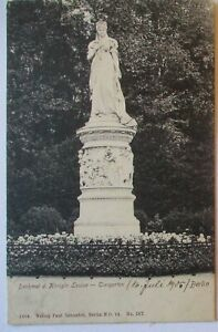 Adel Preußen, Denkmal Königin Luise im Tiergarten Berlin 1905 (4742)