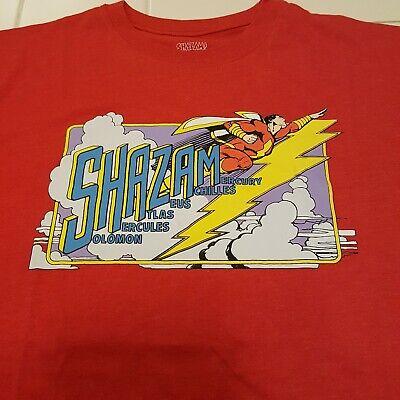 DC Comics Shirt Shazam Logo Adult Ringer T