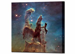 space pillars of creation hubble telescope canvas wall art print