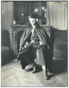 H-Blancard-France-Portrait-de-Mr-Ravet-dans-034-L-039-Ecossaise-034-Vintage-prin