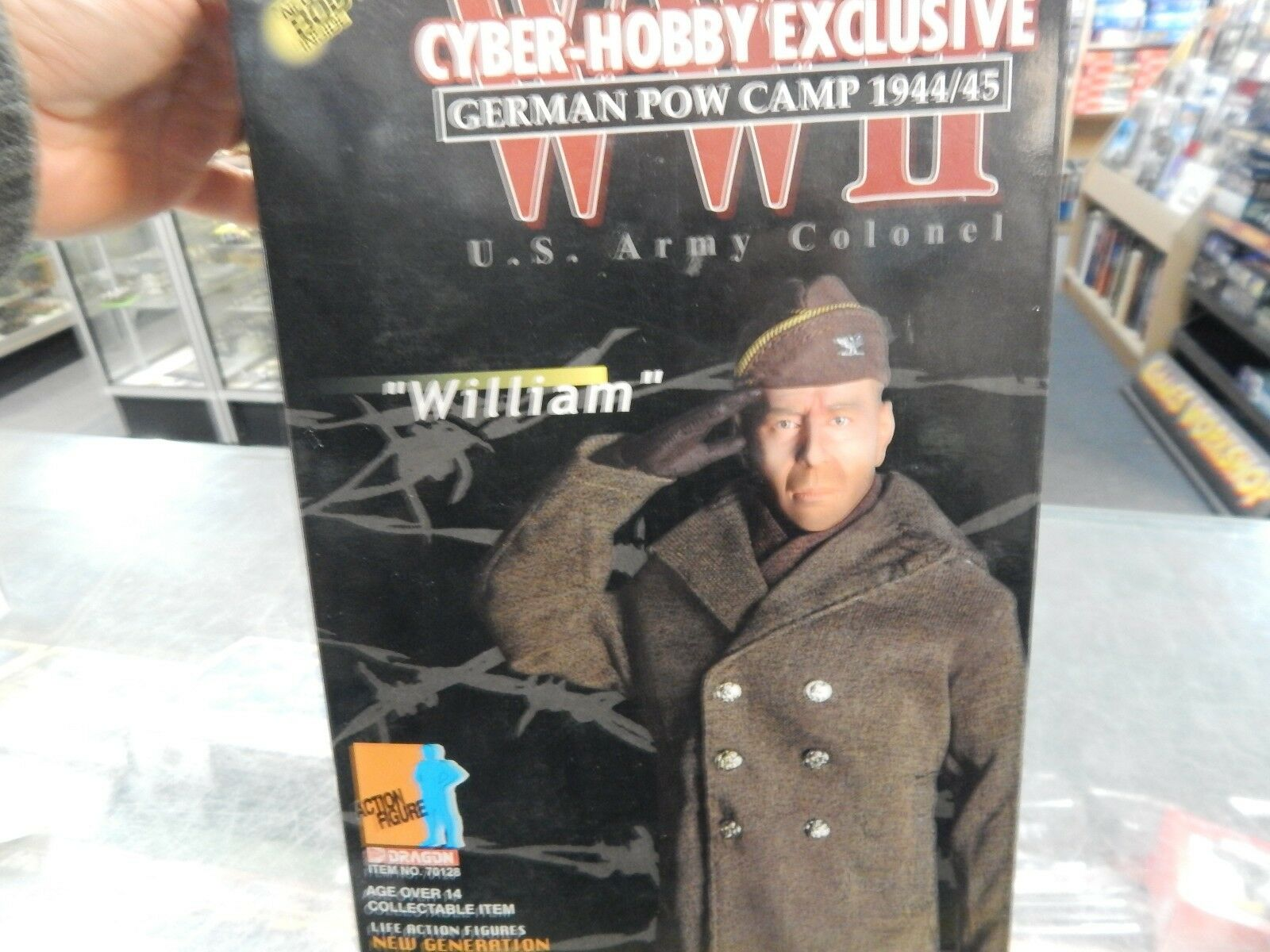 Dragon Cyber Hobby Exclusive 12  action figure 'William'