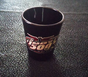 2001-85th-Running-Indy-500-Shot-Glass-May-21-2-3-8-034-Tall-Black
