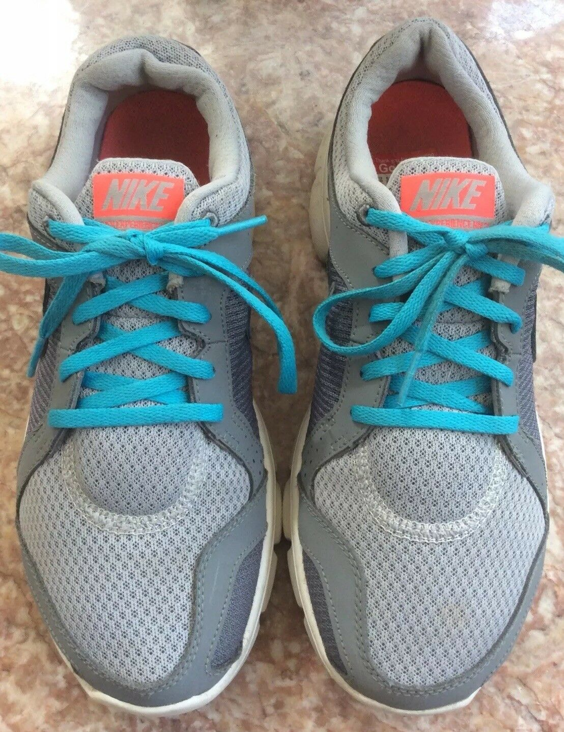 153674a31eb ... NIKE FLEX Experience RN 2 2 2 Women s Gray Blue Running Shoes Size 8.5  0ab954 ...