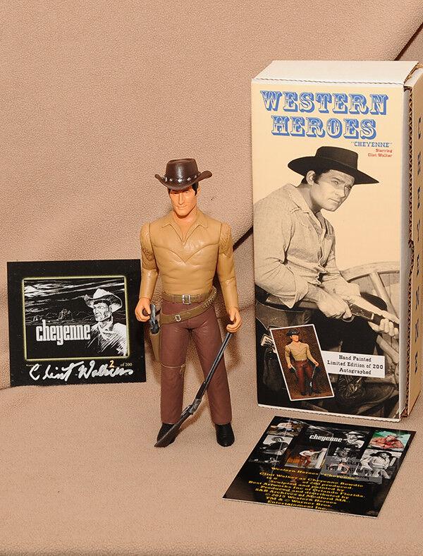 Clint Walker como  Cheyenne  figura de 8  - Edición Limitada  53 _ Hartland coleccionistas occidentales
