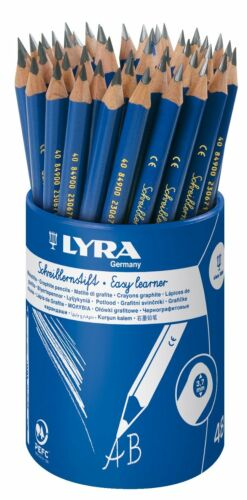 Lyra Easy Learner Triangular Handwriting Pencils Grade B Graphite Pencils