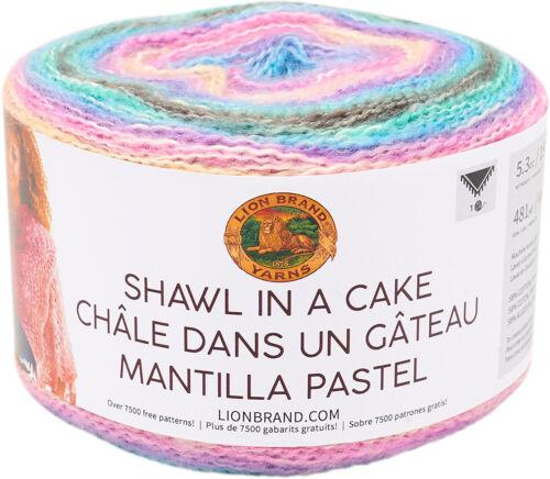 Lion Brand Shawl in a Cake Yarn-Unique Unicorn