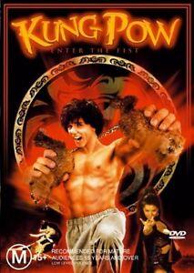Kung-Pow-Enter-The-Fist-DVD-Rare-OOP-GC
